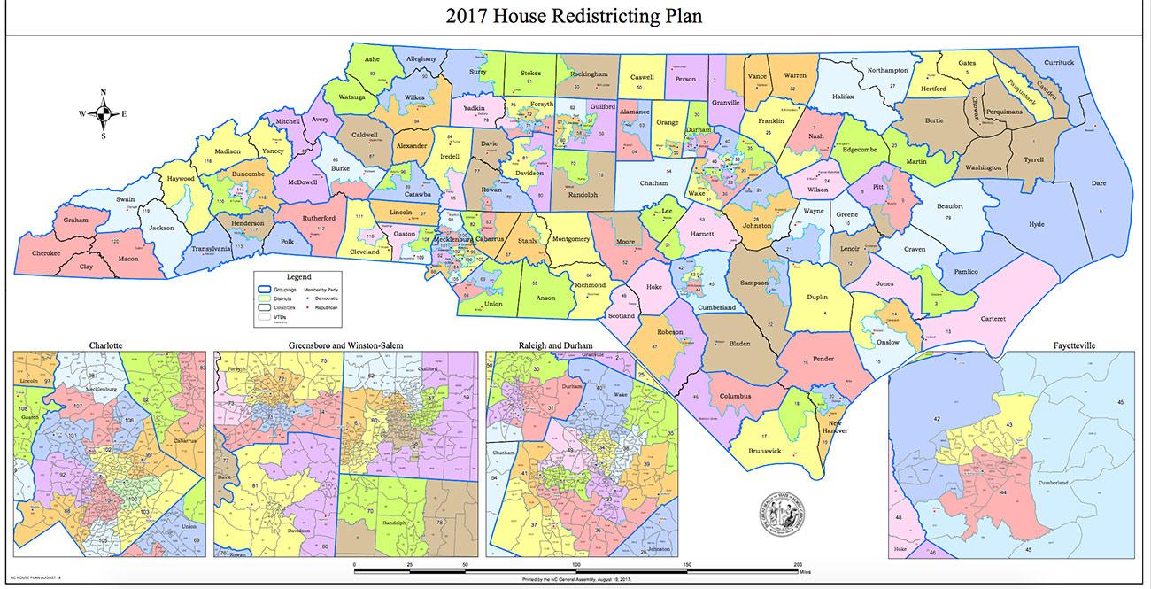 N.C. House Redistricting Committee to Work from Random ...